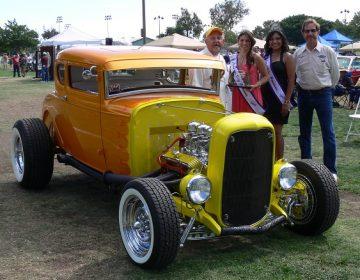 Llega 'expo' de autos clásicos a National City