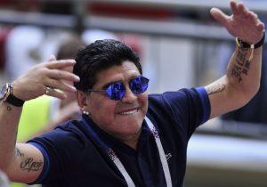 Diego Maradona dirigirá en Sinaloa, la entidad del aguachile y cuna de grandes capos