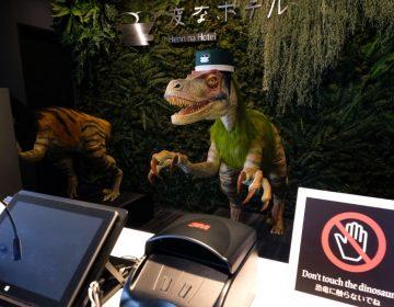 Increíble hotel de Japón donde los recepcionistas son robots dinosaurios