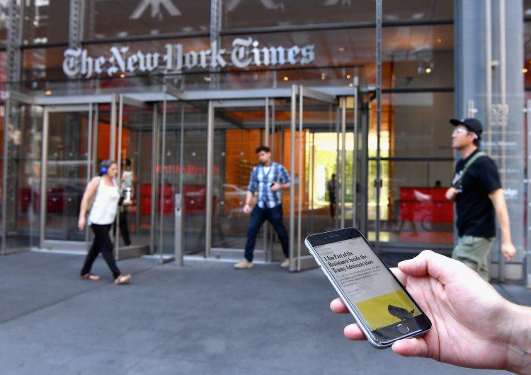 Trump critica artículo de New York Times; colaboradores cercanos aseguran que no lo escribieron