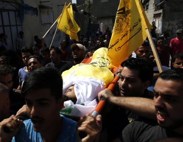 Entierran en Gaza a niño de 12 años que murió en protestas en la frontera con Israel