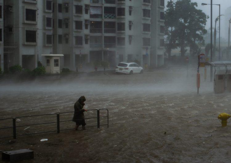 Deslave provocado por el tifón Mangkhut deja decenas de desaparecidos en Filipinas
