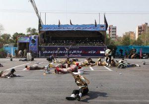 Atentado en un desfile militar en Irán deja a 29 personas sin vida