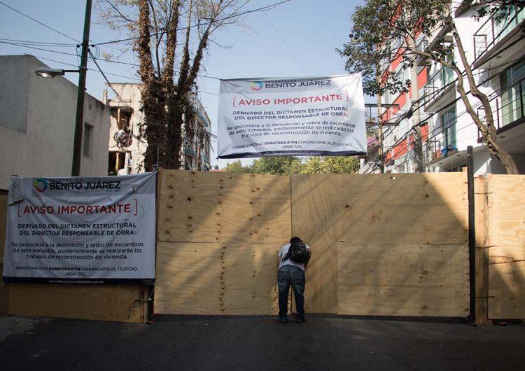 No hay certeza sobre el programa de reconstrucción en Benito Juárez