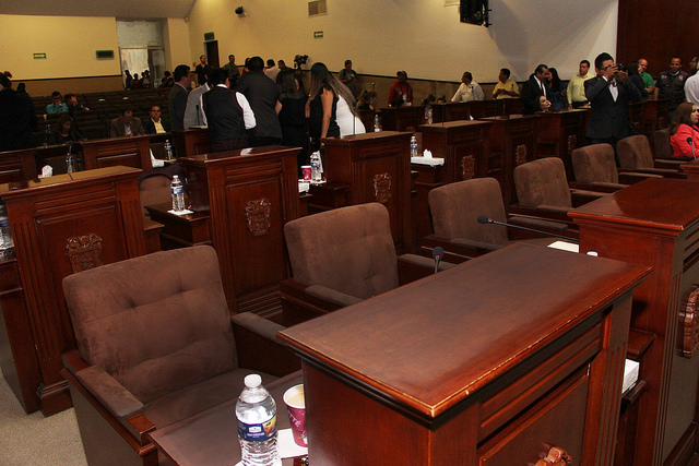 Definen Mesa Directiva para la LXIV Legislatura del Congreso de Aguascalientes