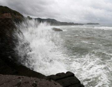 Potente tifón deja varios heridos en Japón