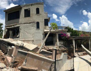 Grieta, fractura poblado de la Mixteca oaxaqueña