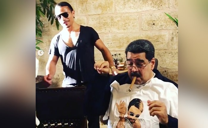 Maduro asegura que sólo atendió una invitación para comer en Turquía