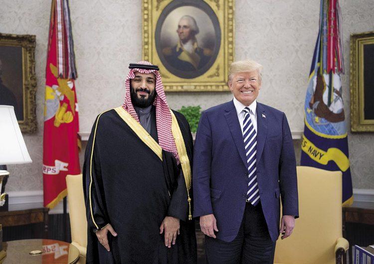 Trump y el príncipe Mohammed: el uno para el otro