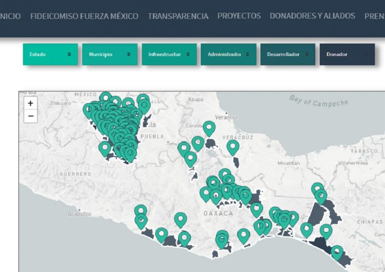 Fuerza México reconstruye viviendas, hospitales y mercados en Oaxaca