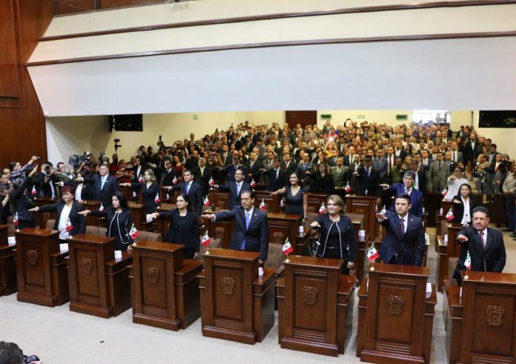 Inicia funciones la LXIV Legislatura