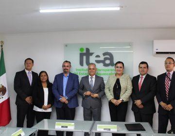 Firman ITEA y Jesús María convenio de colaboración en materia de transparencia