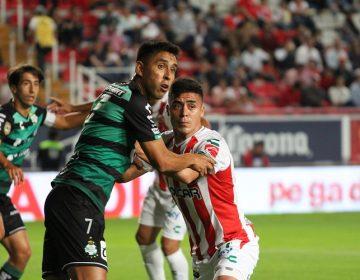 Liga Necaxa tercer derrota consecutiva en una semana