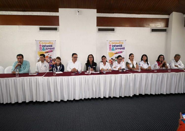Levantará INE consulta a niños, niñas y adolescentes