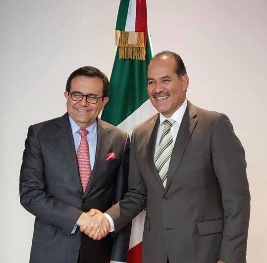 Se reúne Orozco con el Secretario de Economía del gobierno federal