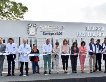 Inauguran albergue para familiares de pacientes del Hospital Hidalgo