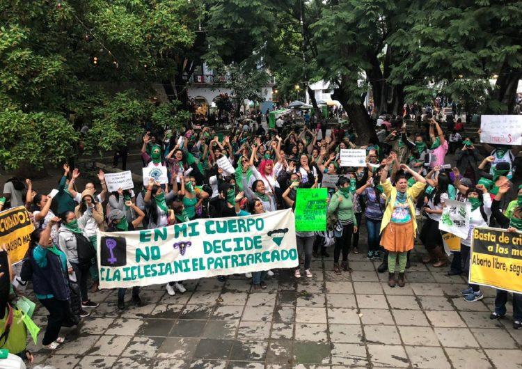Oaxaca se suma a la marea verde