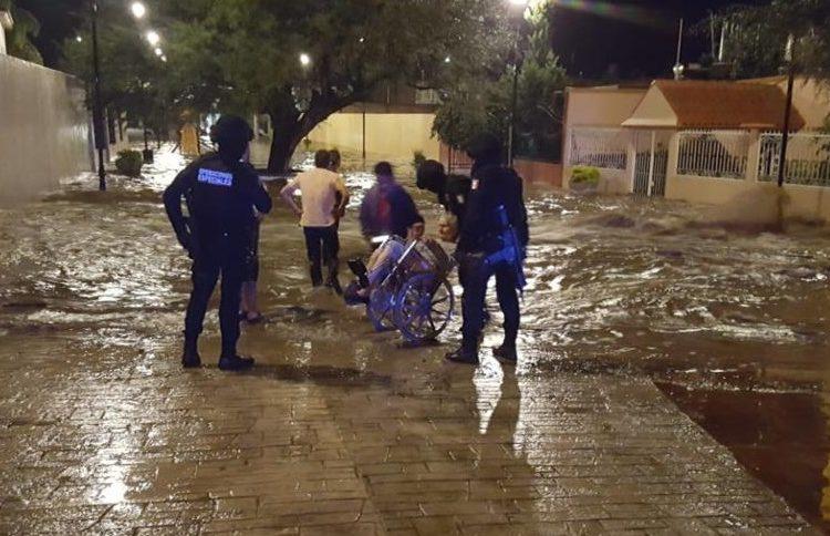 Afectan inundaciones a 40 viviendas de Calvillo