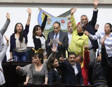Finalizan la sesión; sigue disputa entre Morena y PRI