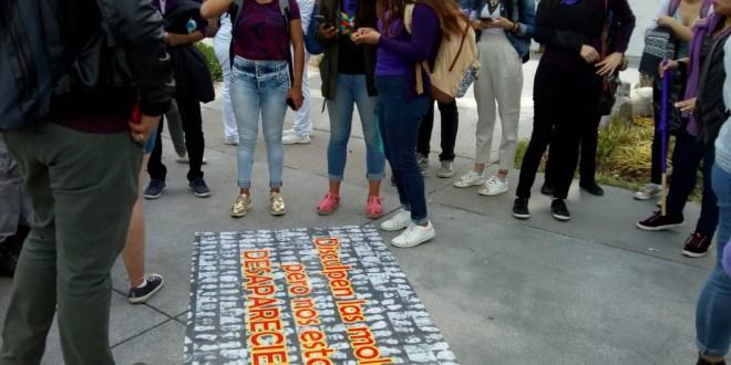 Marchan estudiantes y OSC: exigen hallar a las desaparecidas