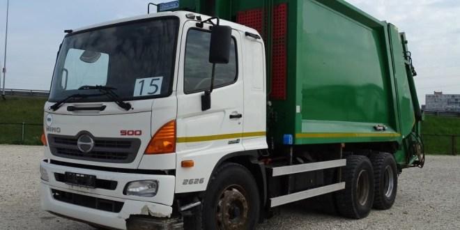 Donan camiones a cuatro municipio de Hidalgo para recolección; cuestan 4.3 mdp