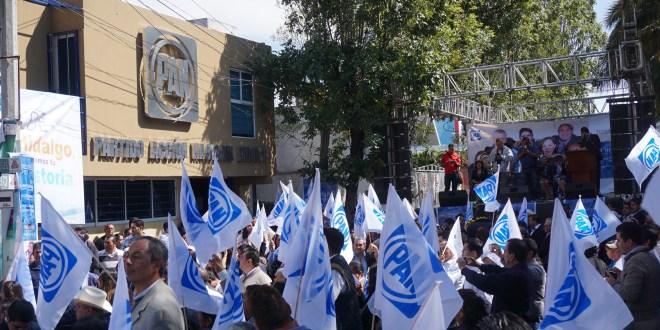 Disminuyó 51% la militancia panista en Hidalgo: líder