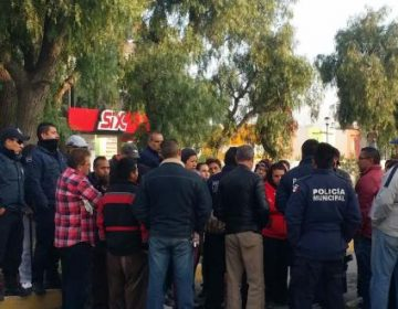 Vecinos cierran vía en protesta vs la delincuencia
