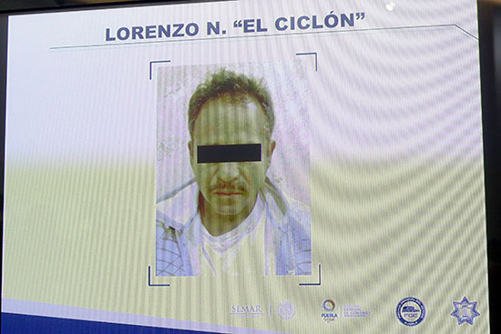 """Detienen a """"El Ciclón"""", líder huachicolero y homicida"""