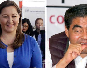 Martha Erika con ventaja sobre Miguel Barbosa en el conteo voto por voto
