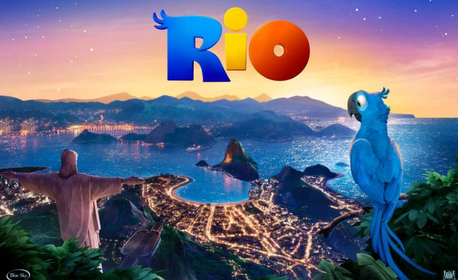 Película Río. Foto: YouTube.