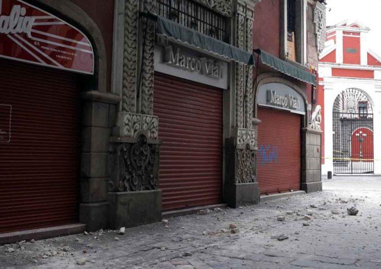 A un año del sismo, 4 de 10 comercios afectados aún no se recuperan: Canacope