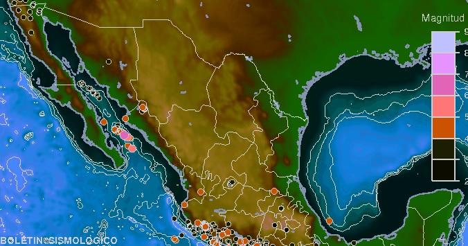 Casi 30 sismos han ocurrido en Aguascalientes desde el 2015
