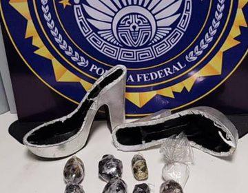 Localizan droga al interior de unas zapatillas en el Aeropuerto de Querétaro