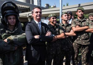 Militares regresan a Brasil