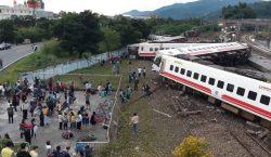 Descarrilamiento de un tren en Taiwán deja al menos 22…