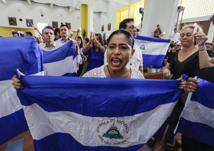 Nicaragua niega acceso al país a defensores de derechos humanos, acusa ONG