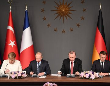 Turquía, Rusia, Francia y Alemania celebran inédita cumbre sobre Siria y la lucha contra el terrorismo