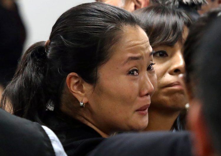 El caso Odebrecht manda a prisión preventiva a Keiko Fujimori por 3 años