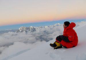 Arriesgar la vida para conquistar montañas