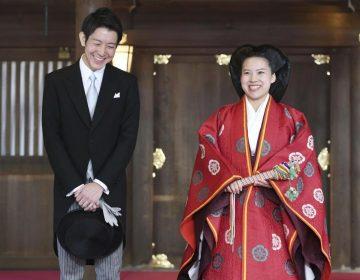 Princesa abandona la realeza de Japón por amor