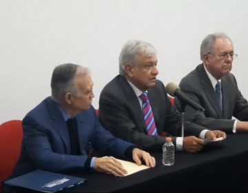 Anuncia AMLO cancelación del aeropuerto de Texcoco