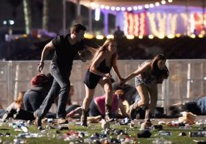 Las imágenes del tiroteo en Las Vegas tomadas por un fotoperiodista que estaba en el lugar por casualidad