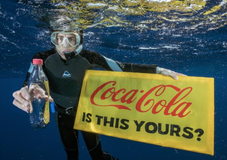Coca-Cola, Pepsi y Nestlé, las tres compañías que generan más contaminación alerta Greenpeace