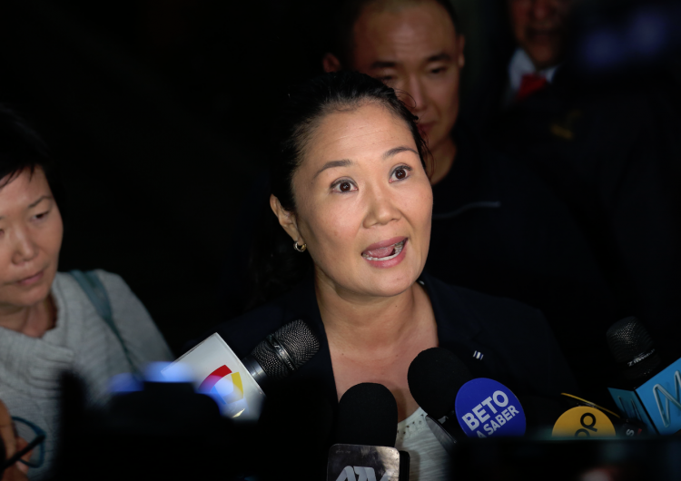 Detienen a Keiko Fujimori por lavado de dinero