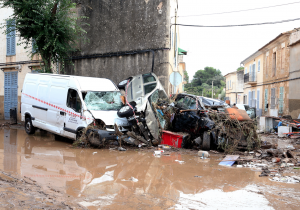 Inundaciones en Mallorca dejan 10 muertos y un niño desaparecido