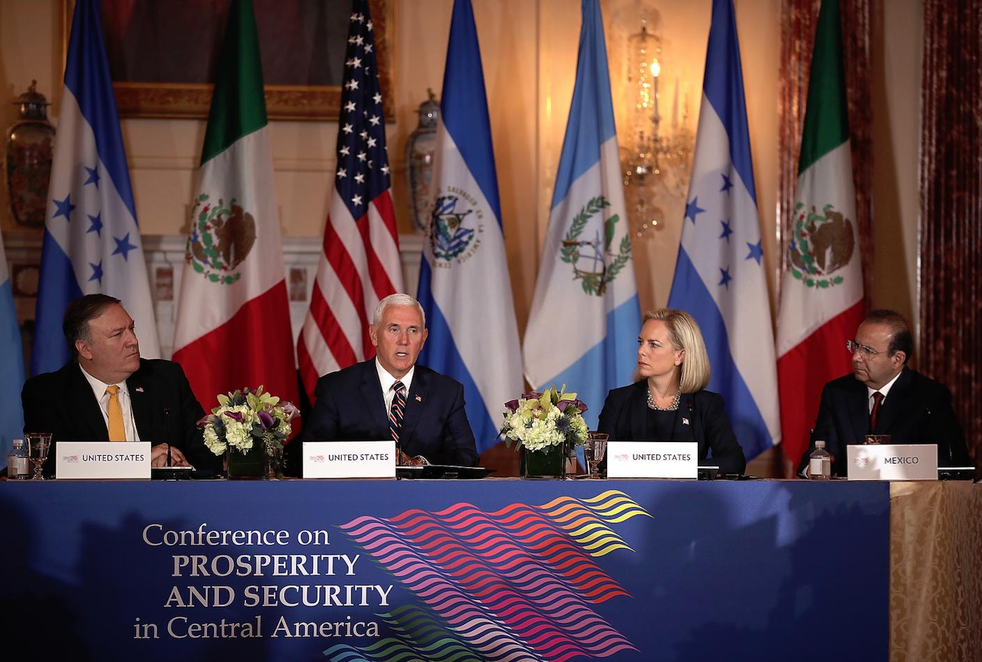 Presidente Jimmy Morales viajó de nuevo a Washington