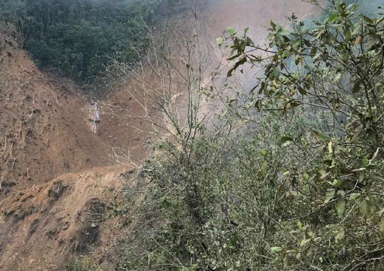 Desaparece familia en los Mixes tras torrenciales lluvias