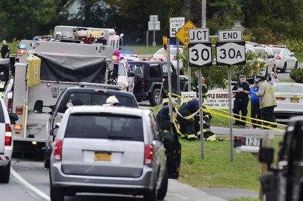 Choque de limusina en NY: el conductor no tenía licencia adecuada y el auto falló inspección