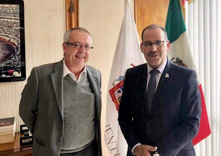 Se reúne el gobernador con el próximo Secretario de Hacienda para revisar proyectos del 2019