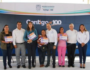 Entrega gobierno 717 apoyos de programas sociales en Pabellón de Arteaga